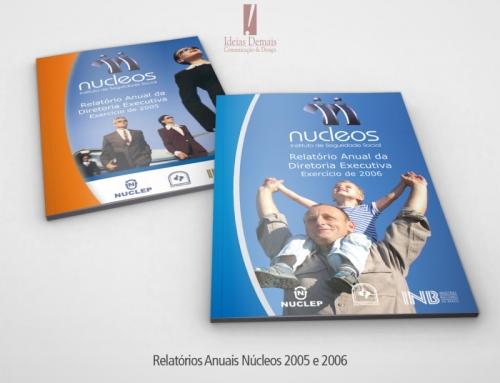 Relatório Anual Núcleos 2005 e 2006